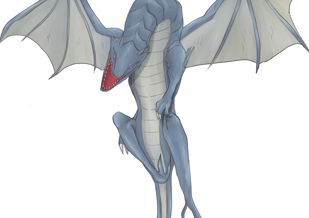 男の子同士が交尾結合すると龍が召喚できるとかいう話【エッセイ】のイラスト(ドラゴンのみ)